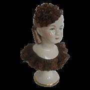 Exquisite California Dresden by Avis Porcelain Lady Figurine