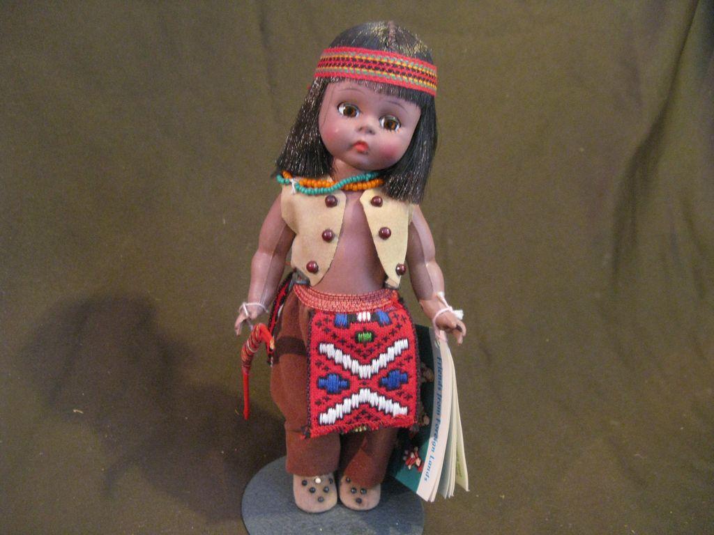 "Vintage Madame Alexander ""Hiawatha"" Doll and Box"