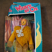1974 MEGO Cowardly Lion 8 Inch Wizard of Oz Doll