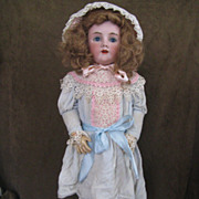 Beautiful Antique Heinrich Handwerck Simon and Halbig Doll 31""