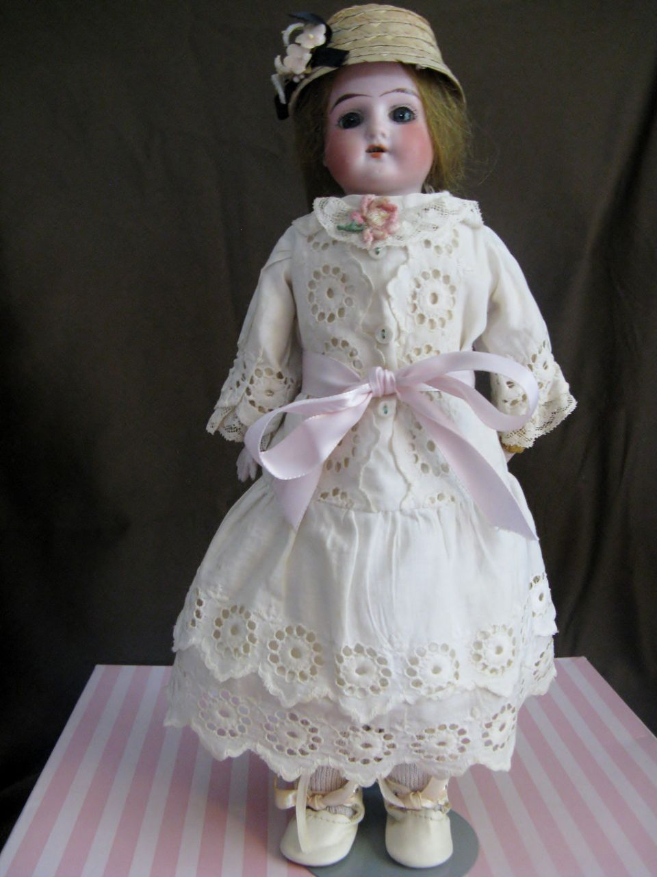 "Antique 12"" Kley & Hahn Ruth Doll"