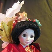 Suzanne Gibson Geisha Doll