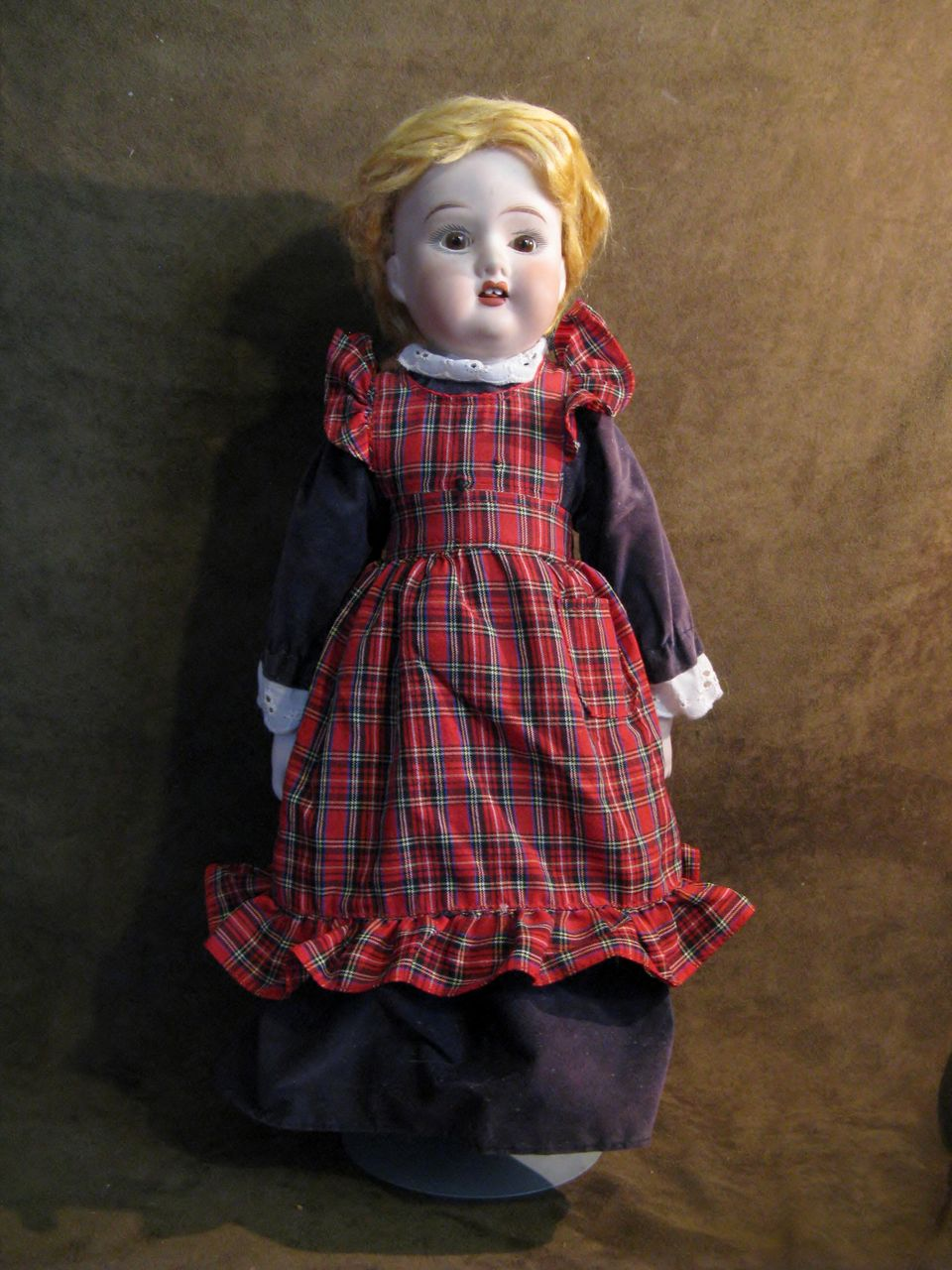 Blond Bisque Fulper Doll Made in USA - 19""