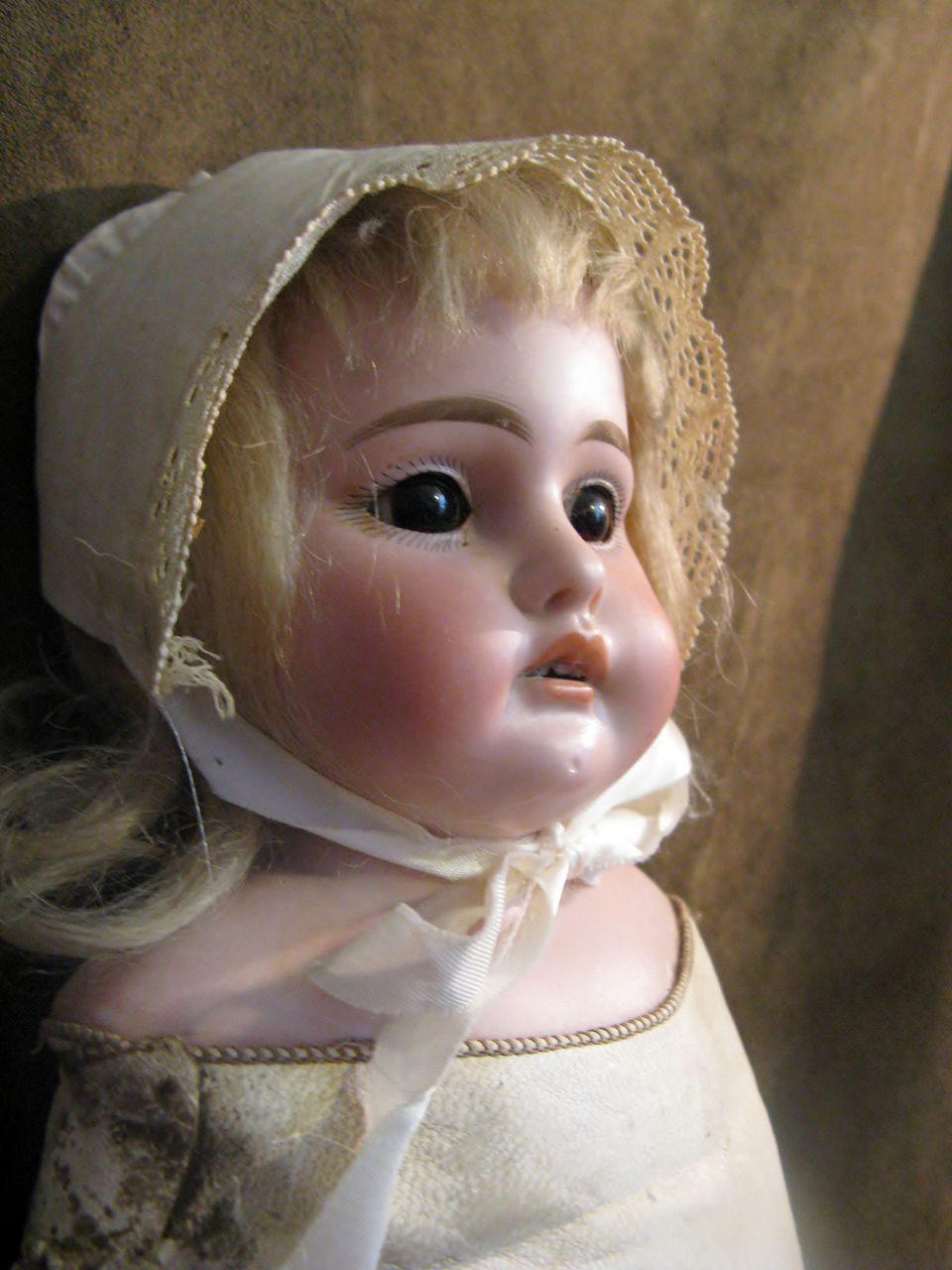 """Armand Marseille  """"1897 AM 3 DEP"""" Bisque Doll"""