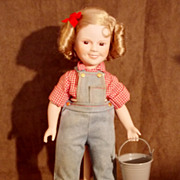 1987 Danbury (Rebecca of Sunny Brook Farm) Shirley Temple Doll