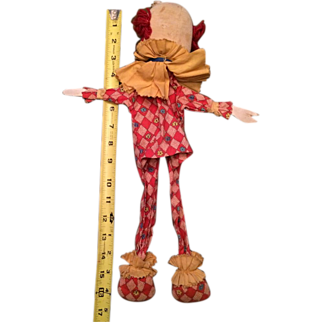 Mid-Century Clown Puppet