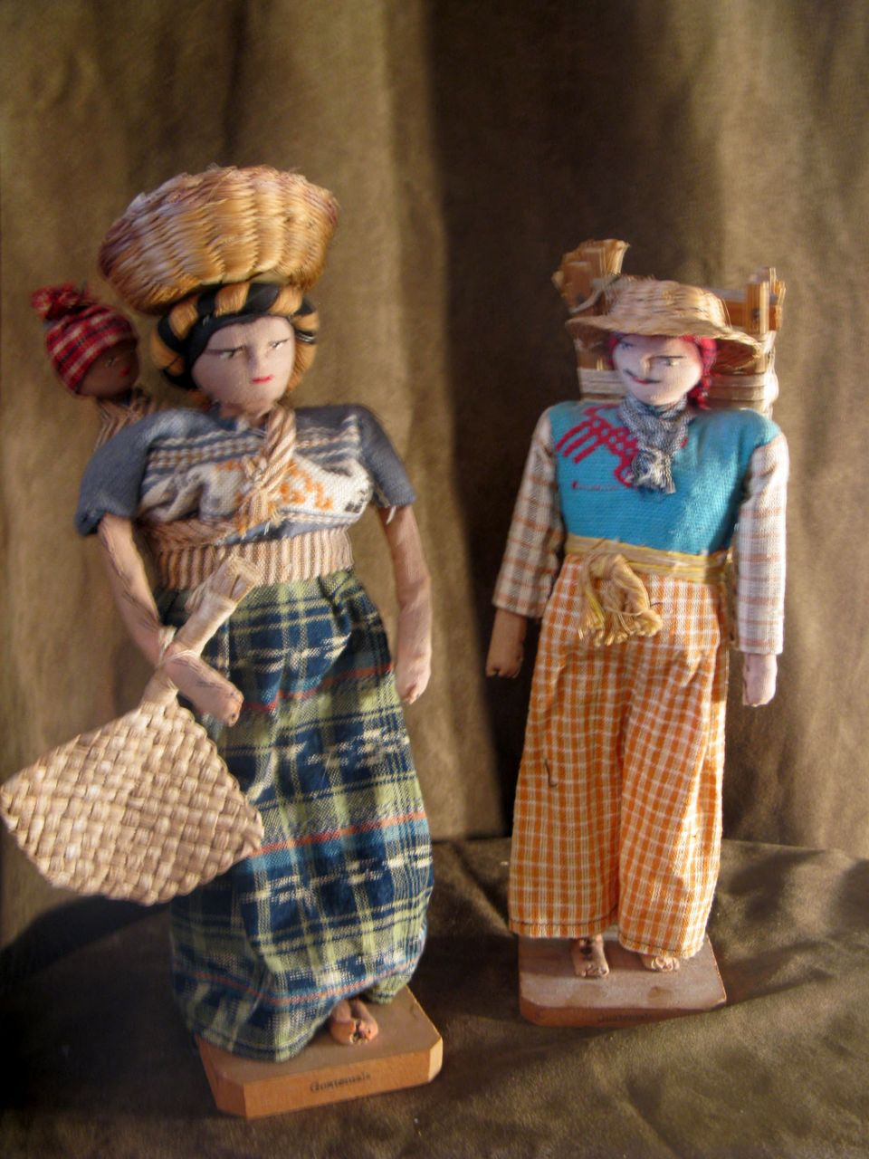 Vintage Guatemalan Family Dolls From Dorothy Albert On