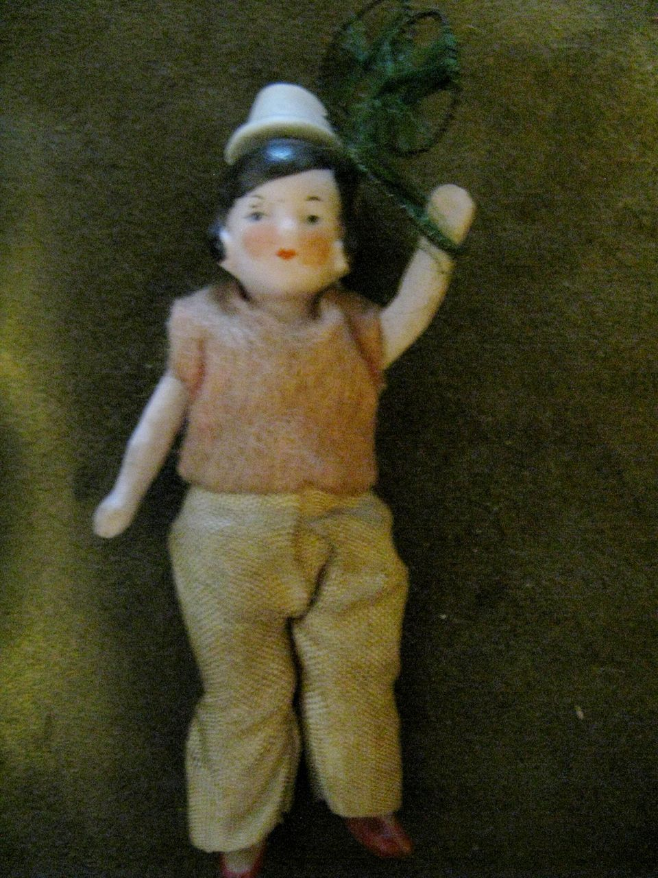 German Bisque Flapper Doll