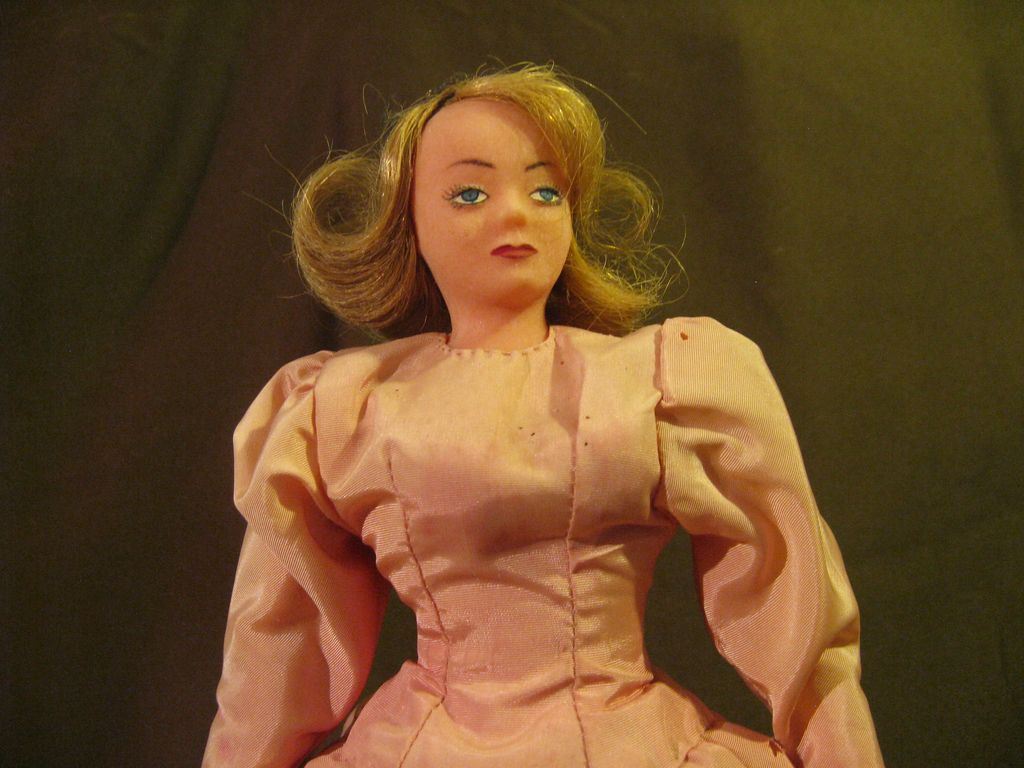 "RARE ""Becky Doll"" Vintage Deep South Americana 12"""