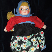 Scandinavian Cloth Mask Face Souvenir Doll
