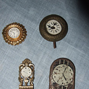 Dollhouse Miniature Clocks - Penny Toy