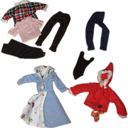 Early Barbie Clothes