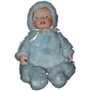 """""""Our Baby"""" Bisque & Cloth Baby"""