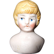 Dollhouse Bisque Doll Head