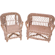 Antique Victorian Wicker Furniture