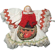 Antique Carl Horn All Bisque Doll