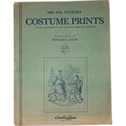 Vintage Costume Prints By Phyllis F. Lucas
