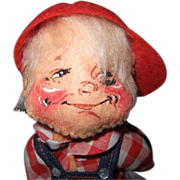 Annalee Doll Society 1987 Souvenir Doll