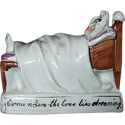 German Fairing Figurine