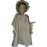 Wood Pegged German Doll