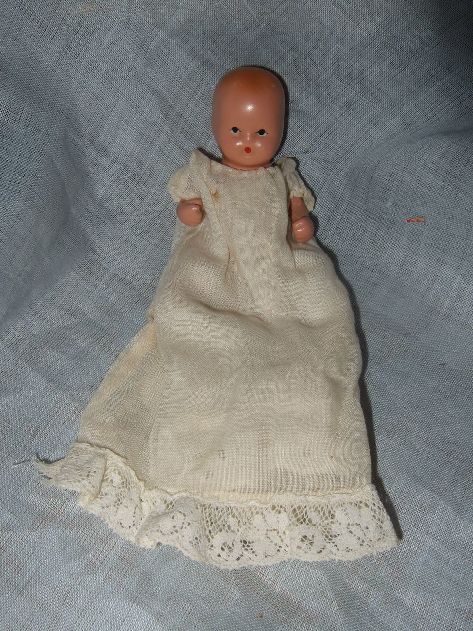 Painted bisque nancy ann storybook baby from shirleydoll on ruby lane