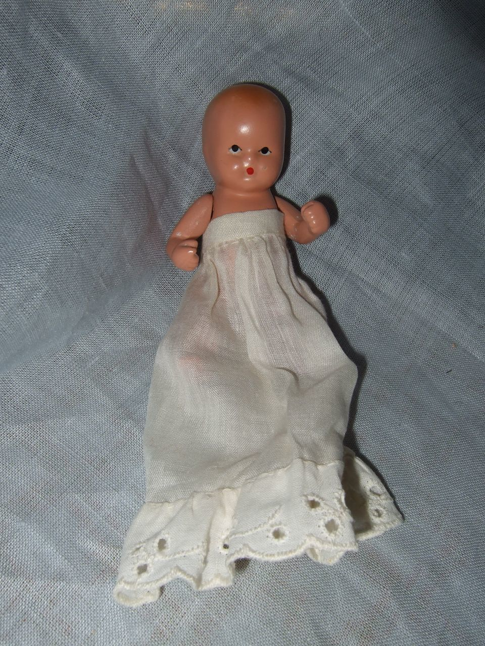 Painted bisque nancy ann storybook baby from rubylane sold on ruby