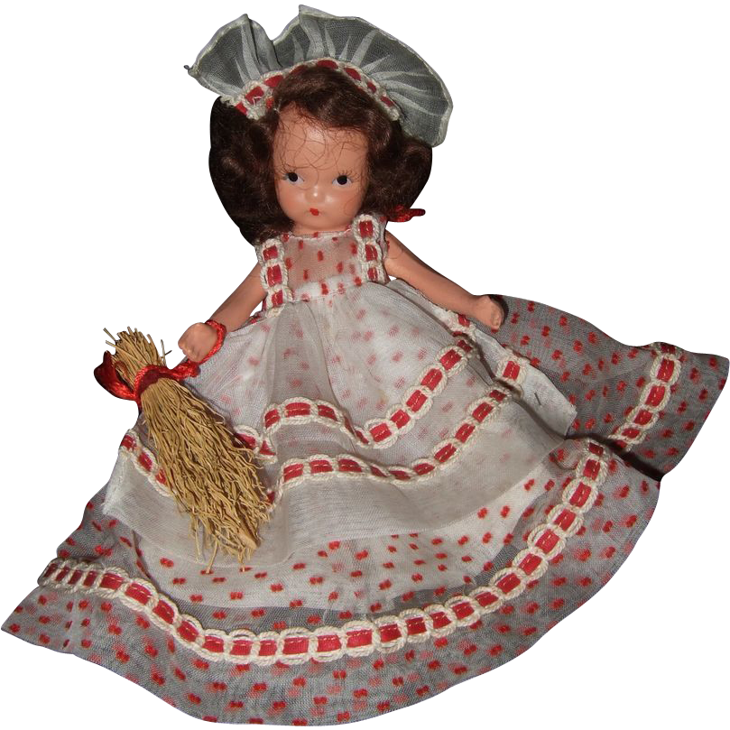 Nancy ann storybook doll 185 saturday s child must work for a living