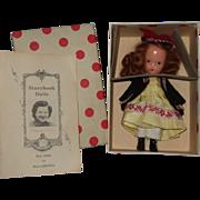 Nancy Ann Storybook #123 One Two Button My Shoe