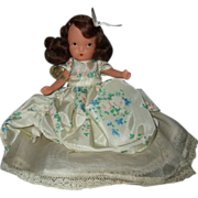 Painted Bisque Nancy Ann Storybook #156 Beauty