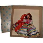 Hard Plastic Nancy Ann #306 Fortune Teller Operetta Series