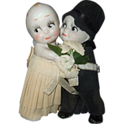 Japanese All Bisque Bride and Groom