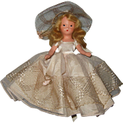 Nancy Ann Storybook Painted Bisque #304 Blossom Time Operetta Series - Red Tag Sale Item