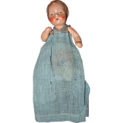 German Miniature Painted Bisque Baby