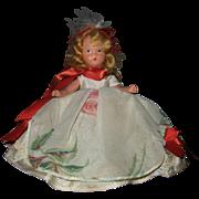 Nancy Ann Storybook Doll #198 For December Just A Dear
