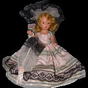 Hard Plastic Nancy Ann Storybook Doll #409 Over the Rainbow