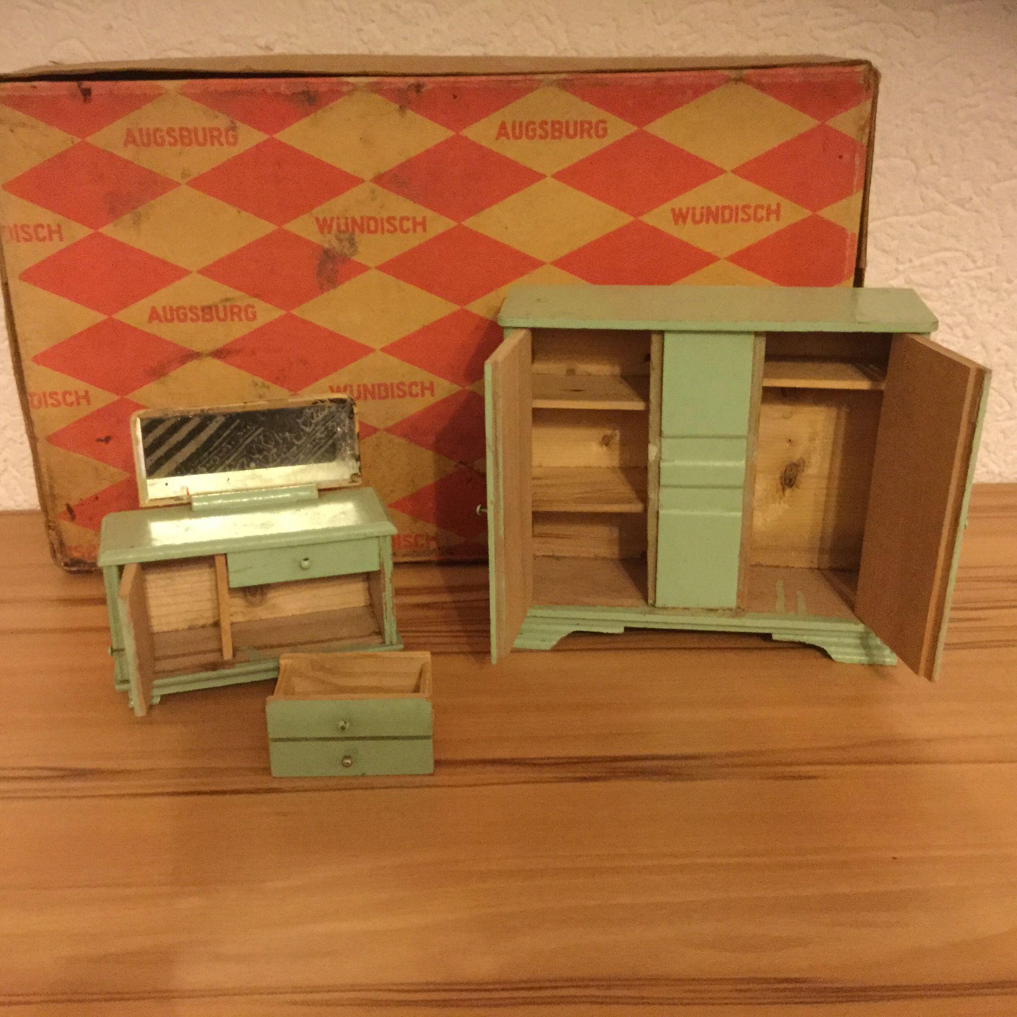 Vintage German Dollhouse Bedroom Set Sold On Ruby Lane