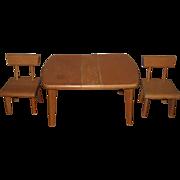 Strombecker Dinette Set