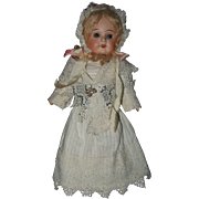 Cabinet Size, German Dolly Face, Bisque Head, Doll - Red Tag Sale Item
