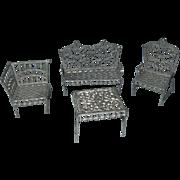Adrian Cooke Soft Metal Living Room Furniture