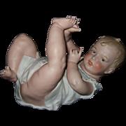 Heubach Piano Baby Figurine
