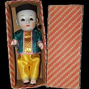 Japanese Sleep Eye, Bisque Boy - Red Tag Sale Item