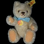 """Small 7"""" Steiff Mohair Bear"""