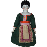 Hertwig German China Head Doll