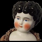 Hertwig Low Brow China Head Doll