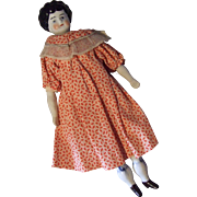 German Hertwig China Head Doll