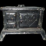 Antique, Cast Iron, Pearl, Stove