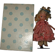"""Nancy Ann Storybook, Painted Bisque,#127 """"Merry Little Maid"""""""