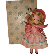 Painted Bisque, Nancy Ann Storybook, #115, Lucy Locket