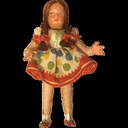 German Caco Dollhouse Doll