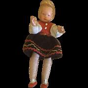 Miniature Dollhouse Caco Doll